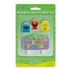 Sesame Street 1st Molded Candle Set 4pcs เทียนงานวันเกิด ครบ1ขวบ ของแท้ นำเข้าจากอเมริกา
