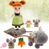 (Mini) Disney Animators' Collection Anna Mini Doll Play Set - 5'' ของแท้ นำเข้าจากอเมริกา
