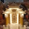ศาลเจ้าหินอ่อน หินน้ำผึ้งแก้ว โปร่งแสง 24นิ้ว