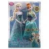 ฮ Anna and Elsa Dolls Summer Solstice Gift Set - Frozen Fever - 12''