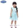 ( 1-2-3 ปี ) ชุดเดรส ลายเจ้าหญิงโฟรเซ่น กระโปรงเดรสสั้น สีฟ้าผ้าลูกไม้ แขนกุด ดิสนีย์แท้ ลิขสิทธิ์แท้ (สำหรับเด็ก1-2-3 ปี)