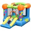 Happy hop บ้านเด็กเป่าลม jumping castles บ้านลม สไลเดอร์เป่าลม Party Slide and Hoop Bouncer