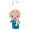 Plush Purse Elsa - Frozen from Disney USA ของแท้100% จากอเมริกา กระเป๋าตุ๊กตา ปากปิ๊กแป็ก มีสายโซ่ น่ารักน่าใช้มากๆ