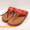 flop Shoes LuLuลูลู่ประดับเข็มขัดสีส้ม/น้ำตาลราคา550บาท