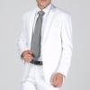 (พรีออเดอร์) ชุดสูทสากล ชุดสูทผู้ขาย สูทแนวสปอร์ต สูทธรกิจ กระดุมสองเม็ด สีขาว แฟชั่นสูทสไตล์เกาหลี