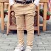 กางเกงขายาวเด็กชายสีน้ำตาล