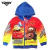 ฮ ( Size S-M-L ) เสื้อแจ็คเก็ต Jacket Disney Cars เสื้อกันหนาว เด็กผู้ชาย สกรีนลาย คาร์ สีแดง รูดซิป มีหมวก(ฮู้ด)สีน้ำเงิน ใส่คลุมกันหนาว กันแดด ใส่สบาย ดิสนีย์แท้ ลิขสิทธิ์แท้