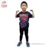 (Size 4)เสื้อยืดเด็กผู้ชาย แขนสั้น สีดำ สกรีนลาย Spiderman สุดเท่ห์ ใส่สบาย ลิขสิทธิ์แท้ (สำหรับเด็กอายุ 2-4 ปี)
