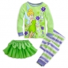 z Tinker Bell Deluxe PJ Pal for Girls (Size4)