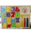 กล่องไม้สอนเลข 123 สอนคณิตศาสตร์ สอนนับเลข