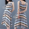 Sevy Color Graphic Vest Maxi Dress Type: Maxi Dress Fabric: Viscose ผ้าวิสคอสเนื้อทราย Detail: Maxi Dress ลายกราฟฟิกสีสันสวยงาม ดีเทลแขนกุด ซับในเย็บติดเนื้อผ้า เย็บแต่งกระดุมหน้าเพื่อความเก๋ เนื้อผ้าพริ้วสวยใส่สบาย ใส่แล้วสวยเหมือนนางแบบคะ