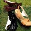 แบบใหม่จร้า  รองเท้าคัทชู ใส่สบาย ทำให้เท้าเรียวขึ้นคะ  ส้นเตารีดกิ๋บเก๋ด้วยส้นวิ้ง ๆ