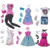 z Barbie Favorite Fashion 6-Pack ของแท้100% นำเข้าจากอเมริกา ชุดตุ๊กตาบาร์บี้ เสื้อผ้า กระเป๋า รองเท้า