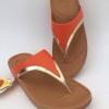 รองเท้า fitflop หนีบลูลู่สีสีมขอบทอง/น้ำตาล490 บาท