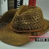 (Pre-order) หมวกปีกกว้าง หมวกสาน ป้องกันแดด สำหรับกิจกรรมกลางแจ้ง เที่ยวทะเล สีกาแฟ