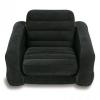 ฮ มีของพร้อมส่งนะคะ โซฟาเป่าลม Pull-Out Chair Intex โซฟาเป่าลม ขนาด 107x221x66 ซม. รุ่น 68565 (สีดำ)