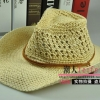 (Pre-order) หมวกปีกกว้าง หมวกสาน ป้องกันแดด สำหรับกิจกรรมกลางแจ้ง เที่ยวทะเล สีเบจ