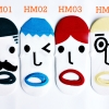 ถุงเท้าการ์ตูนเกาหลี Human Set
