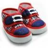 รองเท้าเด็กชาย พื้นปุ่ม น่ารักมาก สำหรับเด็ก 6-9 เดือน ความยาว 12 cm