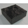 ็็HHTM-009 size 10x10 cm. Black Basalt Cutting all side
