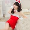 ชุดบันนี่เกิร์ล Bunny Girl สีแดง