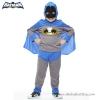 ( 4-6-8-10 ปี ) ชุดแฟนซี เด็กผู้ชาย แบทแมน Bat Man เสมือนจริง สีเทา/น้ำเงิน มาพร้อมกับเสื้อ กางเกง หน้ากาก เพื่อให้คุณหนูๆได้สนุกกับชุดsuper hero คนโปรดตามจิตนาการ ชุดสุดเท่ห์ ใส่สบาย ลิขสิทธิ์แท้