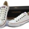 รองเท้าหนัง Converse หนังขาว หุ้มส้น ผู้ชาย ผู้หญิง Shoes Size 37-44 พร้อมกล่อง