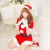 ชุดคอสเพลย์ซานต้าผู้หญิงสวยๆ >>สินค้ามีตำหนิเล็กน้อยลด 30%<<