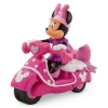 z Minnie mouse pull back car with sound(พร้อมส่ง)