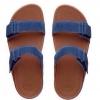 fitflop goodstock nubuck slide sandals สีน้ำเงิน/น้ำตาล ราคา 550
