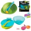 ชุด ชาม ช้อน Tommee Tippee 2-Pack Explora Easy Scoop Bowls with Spoon ...นำเข้า จาก UK