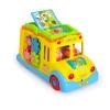 Huile Toys รถโรงเรียนมหาสนุก กิจกรรมรอบด้าน วิ่งได้ หมุนตัวกลับเองได้ สำหรับน้อง 12 เดือน