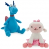 z Stuffy and Lambie Figural Bookends - Doc McStuffins