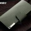 กระเป๋าสตางค์ กระเป๋าคลัทช์สำหรับผู้ชาย แฟชั่นกระเป๋าสไตล์อิตาลี หนังแท้ หนังแข็ง สีเขียวเข้ม