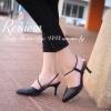 พร้อมส่ง รองเท้าส้นสูง Oreilly Sculpture ที่มีหัวรองเท้าแบบแหลม พร้อมแต่งสายคาดเท้าเส้นเบ็กสวยงาม ผลิตจากหนังคุณภาพดี ทรงสวยมาก ฮอตฮิตตลอดกาล งานสไตล์แบรนด์ให้ลุคของคุณดูหรูทุกครั้งเมื่อสวมใส่