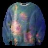 Pr-Order เสื้อยืดพิมพ์ลาย MR.GUGU & Miss GO : Green nebula sweater