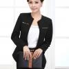 Pre-Order เสื้อสูททำงานแขนยาว เสื้อสูทผู้หญิง สูทลำลอง สีดำ แฟชั่นชุดทำงานสไตล์เกาหลีปี 2015