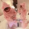 Sweet pink polkadot pyjamas เมื่อการพักผ่อนเปนสิ่งสำคัญ ชุดนอนชุดนี้จะทำให้หลับฝันดี ตลอดคืน ด้วยโทนสีชมพู แต้มลายจุดขาวทั้งชุด น่ารักมากๆ เนื้อผ้าก็แสนจะนุ่มนิ่ม เบา ใส่สบาย ตัวเสื้อแต่งฮู้ดมีหูเล็กๆ เสื้อเจาะกระเป๋าให้ทั้งซ้าย-ขวา ใส่คู่กับกางเกงขาวยาว