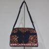 กระเป๋าสะพาย นารายา ผ้าคอตตอน ลายเสือ ติดโบว์ (กระเป๋านารายา กระเป๋าผ้า NaRaYa กระเป๋าแฟชั่น)