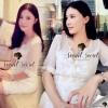 Jessica Flora Stick Dress by Seoul Secret Material : เนื้อผ้าชีฟองผสมโพลีเอสเตอร์ สวยเก๋หวานด้วยทรงเดรสแขนยาว เนื้อผ้ามีดีเทลสวยๆ ด้วยงานเย็บประดิษฐ์ด้วยดอกไม้ เย็บประดิษฐ์ทีละดอกๆ เนื้องานละเอียดสวยมากคะ ตัวเสื้อมีดีเทลสวยๆ ด้วยงานเย็บซ้อนด้วยผ้า 2 ชั้นด