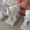 ช้างชูงวง แกะสลัก หินอ่อน