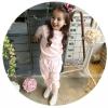 ชุดวอร์มเด็กสีชมพู งานคุณภาพดี PinkIdeal