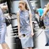 Seoul Secret Say's... Plaitly Fashly Denim set Material : สวยชิคสไตล์สาวมั่นด้วยเซ็ทเสื้อกระโปรงยีนส์ มีดีเทลชิคๆ เยอะเลยนะคะ ตัวเสื้อแต่งด้วยริบบิ้นลายริ้วผ้ายืดแนวสาวสปอร์ตแต่งที่ขอบ เติมความน่ารักด้วยงานสกรีนลายเด็กผู้หญิงและรีดประดับด้วยเพชรที่ตั