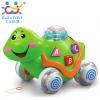 Huile Toys เต่าจูง ลากจูงเดินมีไฟสวยงามเพลงเพราะ สอน ABC สำหรับน้อง 12 เดือน