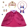 z Costume Accessory Set Anna - Frozen