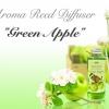 """GREEN APPLE"" AROMA Reed Diffuser / น้ำมันหอมระเหยปรับอากาศ กลิ่นแอปเปิ้ลเขียว"