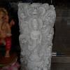 ภาพเจ้าแม่กวนอิม 9 มังกร แกะสลักหินอ่อน 100เซนติเมตร