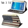 พร้อมส่ง*เคสซัมซุงแท็บ 3 7.0 ลายธงชาติ อเมริกา (ส่งฟรี EMS)