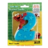 zSesame Street Elmo Number 2 Birthday Cake Candle เทียนแฟนซี เทียนวันเกิด ครบ2ปี (พร้อมส่ง)