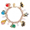 z Sleeping Beauty Charm Bracelet